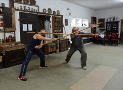 """СРЕДНЕВЕКОВАЯ НЕМЕЦКАЯ ШКОЛА """"Б"""" (меч и щит, алебарда)"""